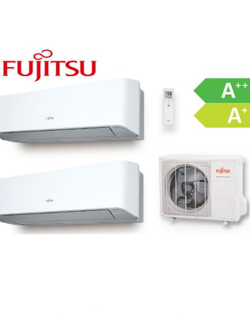 Aire acondicionado multi-split inverter 2x1 FUJITSU
